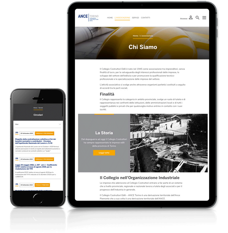 servizi di digitali progetto web