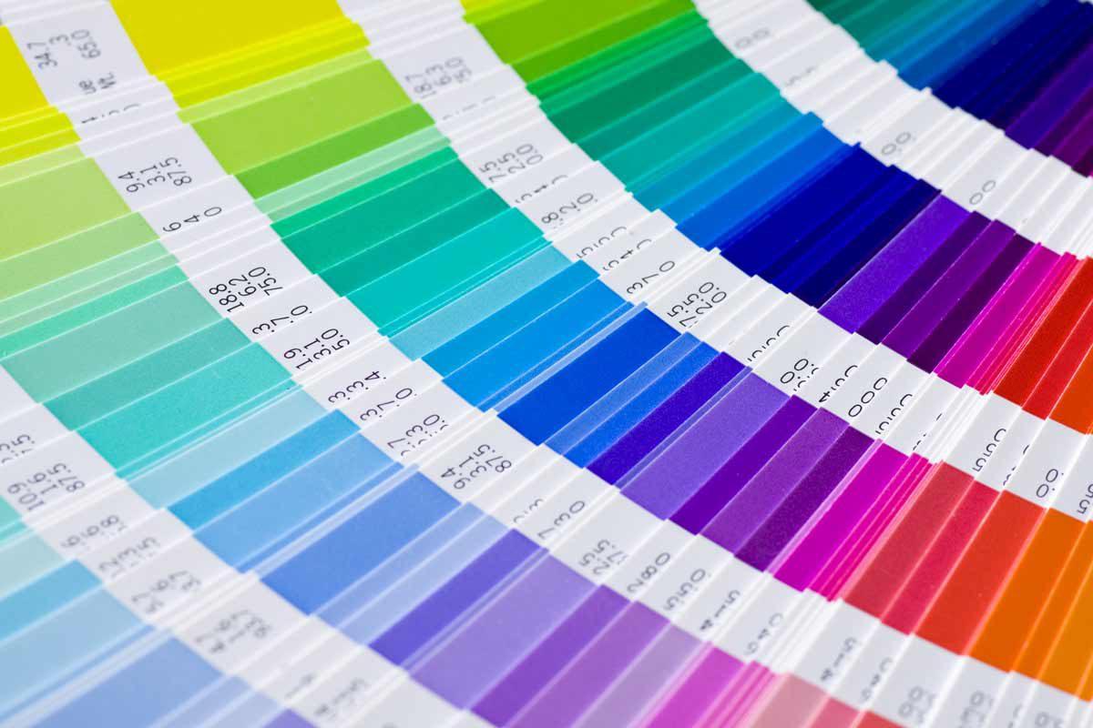 WillBe-catalogo colori campione Pantone utilizzato per prgettazione grafica