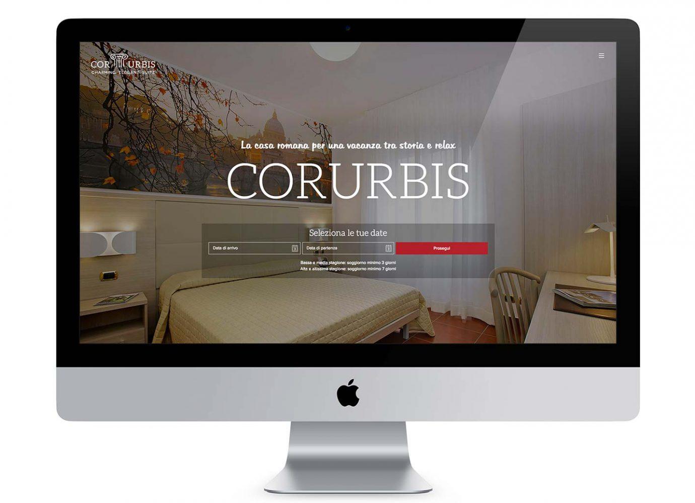 Homepage di sito web responsive su misura per casa vacanze realizzato da WillBe
