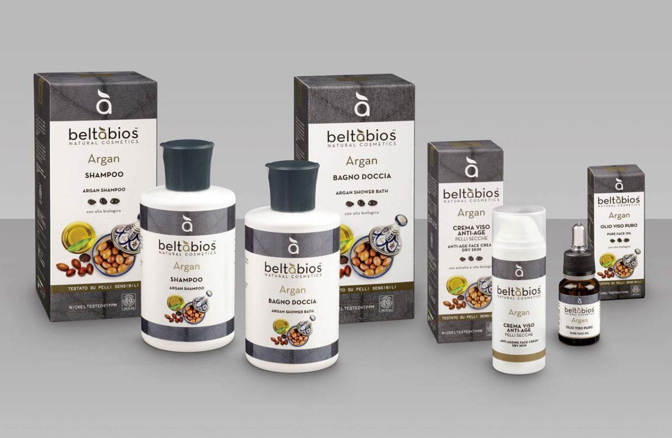Packaging design linea di prodotti cosmetici naturali per la grande distribuzione realizzato da WillBe