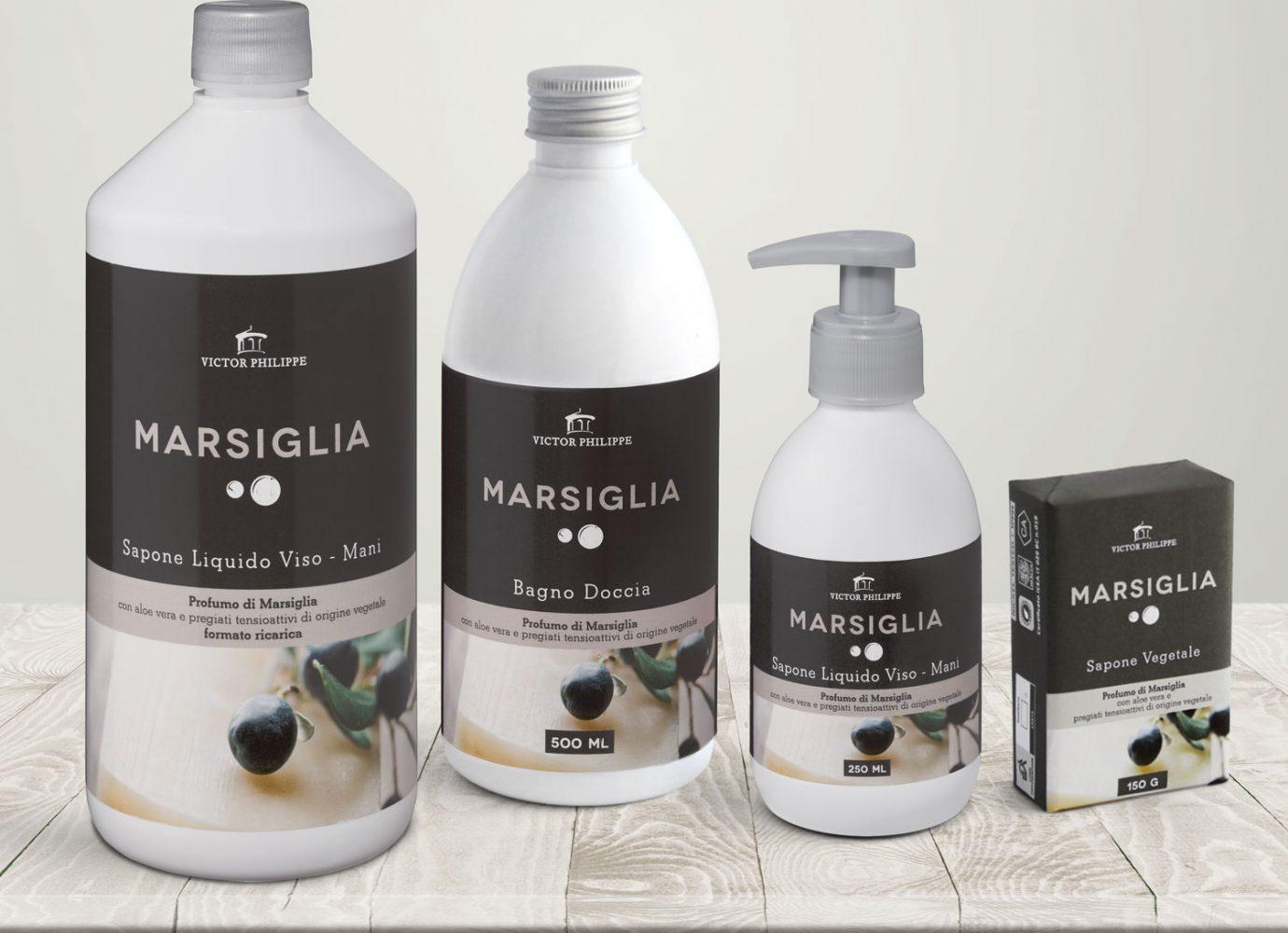 brand identity e packaging design linee bio marsiglia