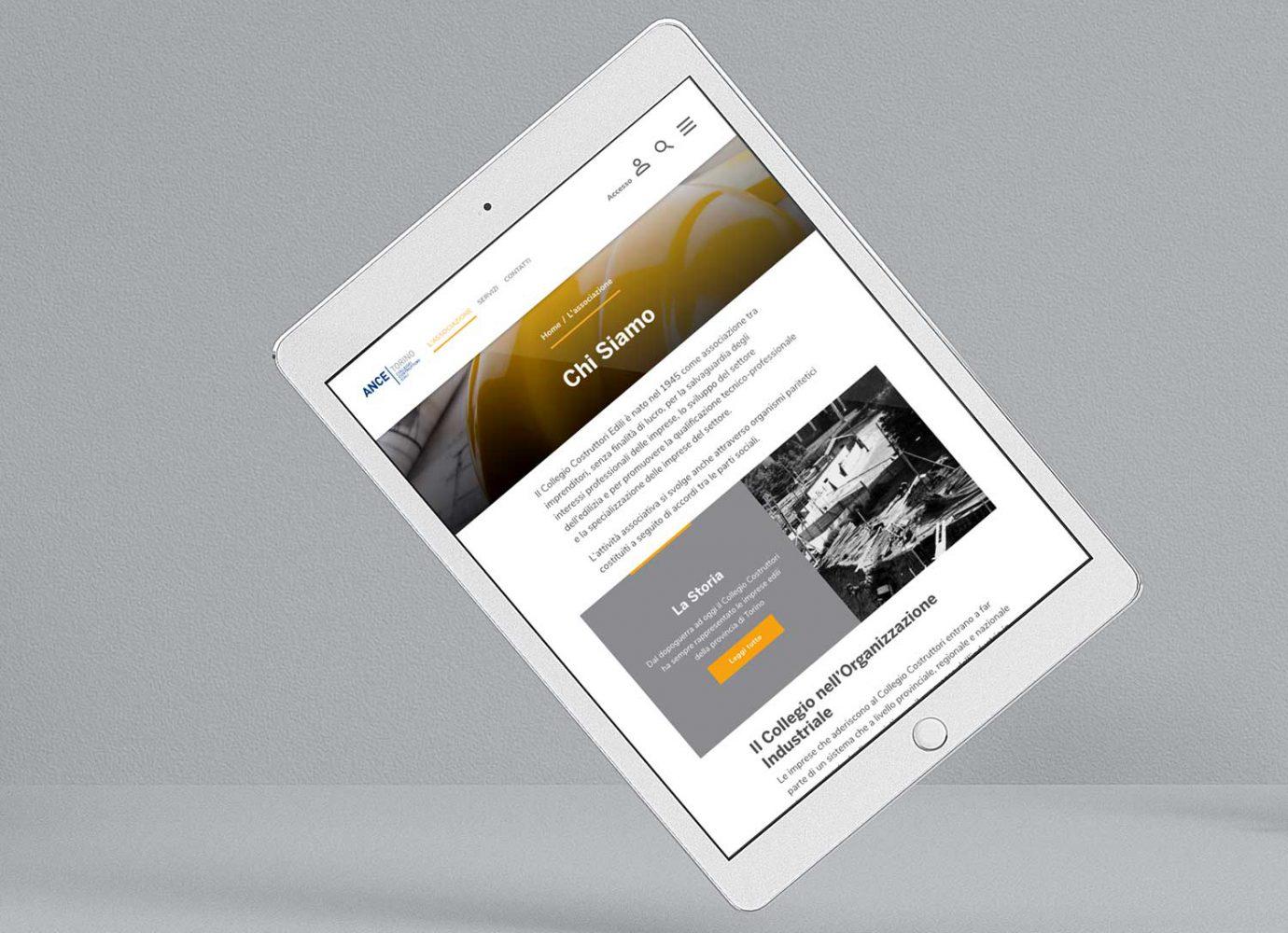 sviluppo sito drupal versione tablet