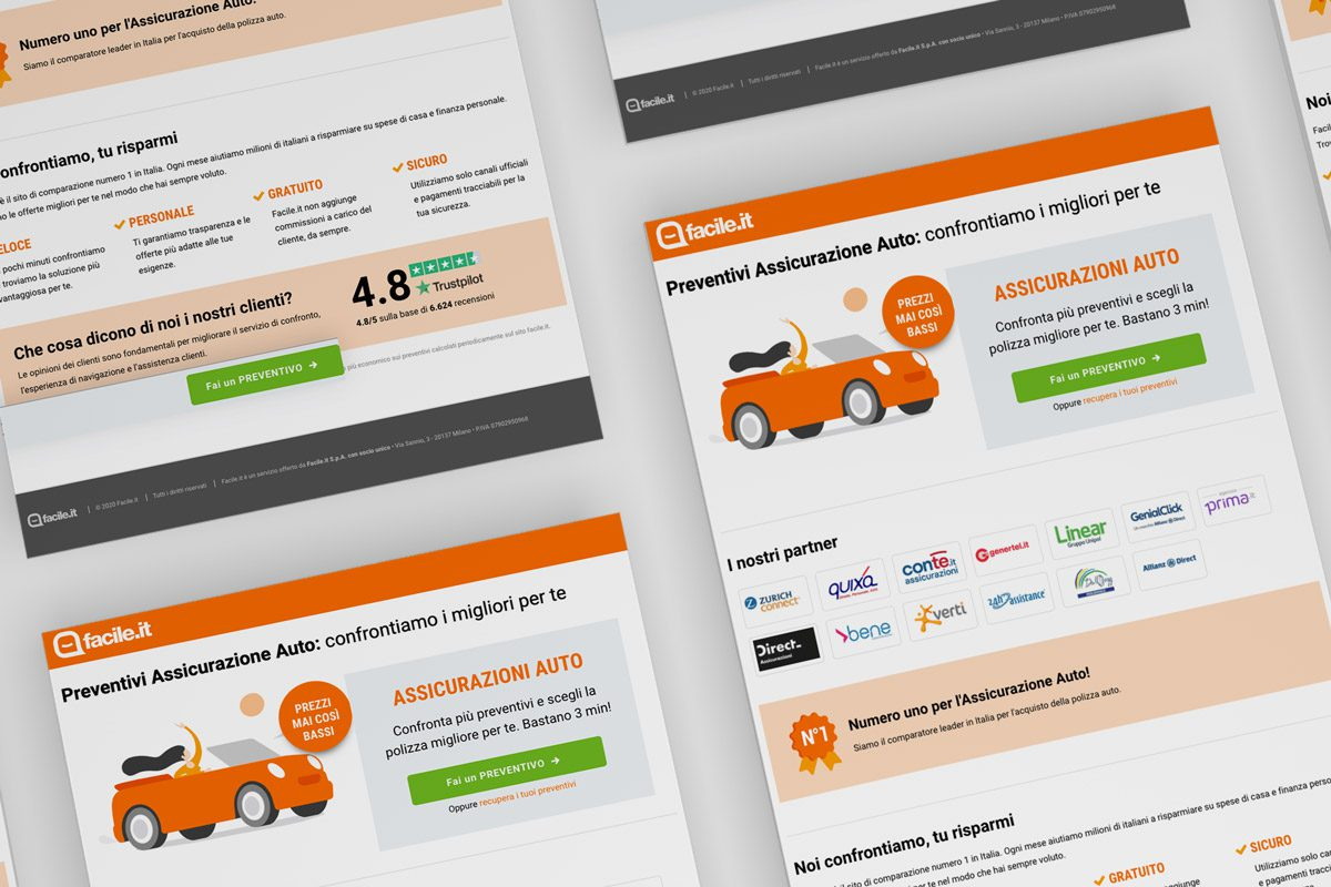 WillBe landing page facile.it