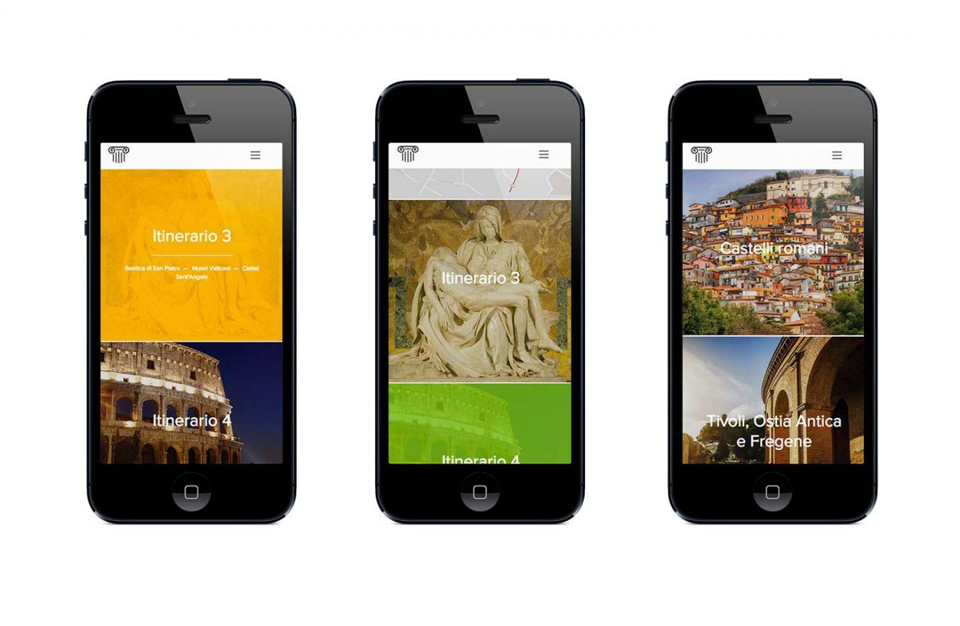 Versione mobile homepage di sito web responsive per casa vacanze realizzato da WillBe