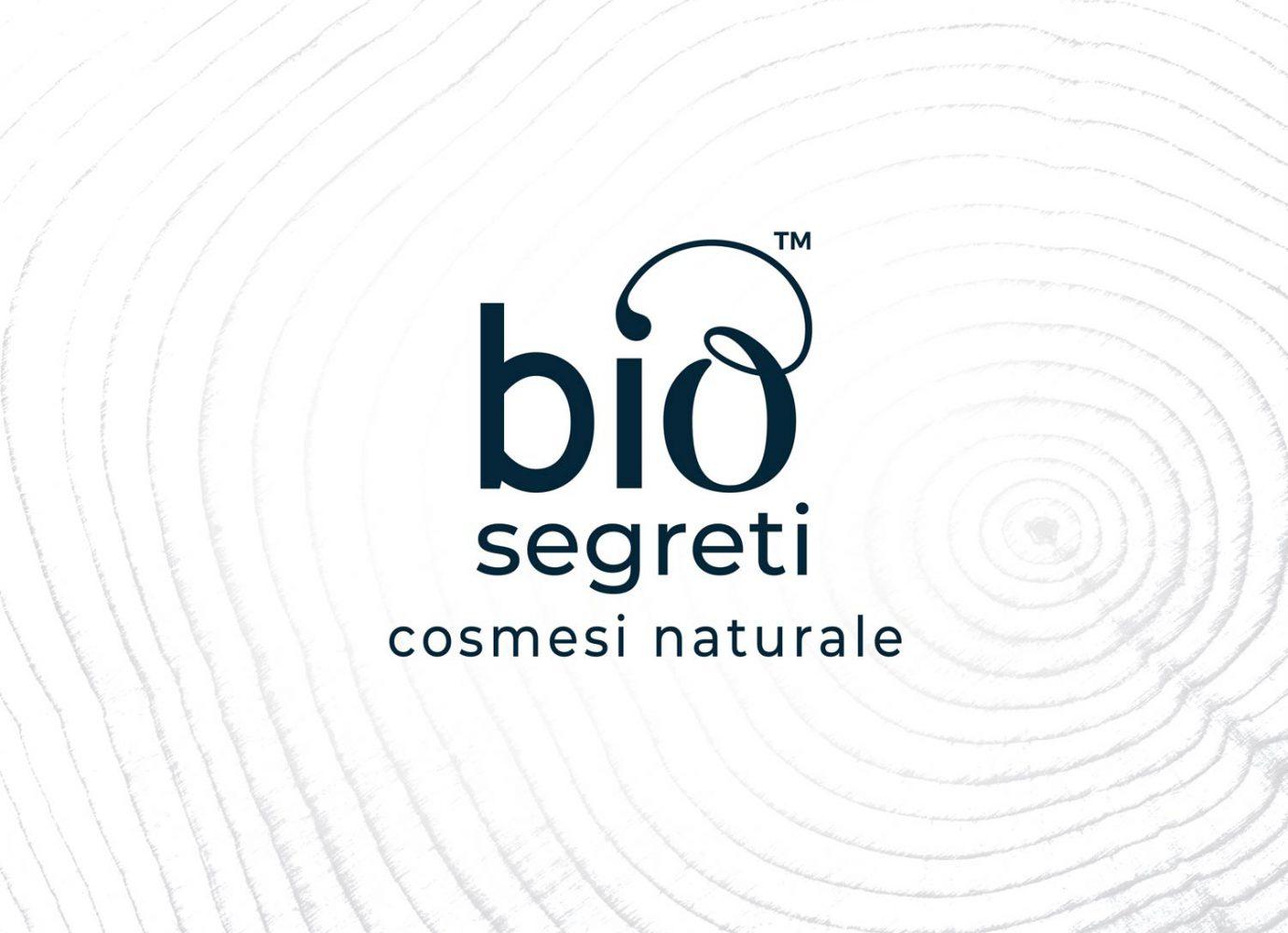 Brand design della linea di cosmesi naturale Bio Segreti realizzato da WillBe