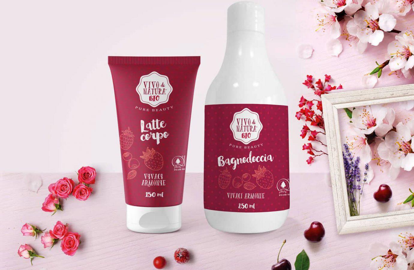 WillBe packaging design cosmesi idee regalo Vivo di Natura Vivaci Armonie