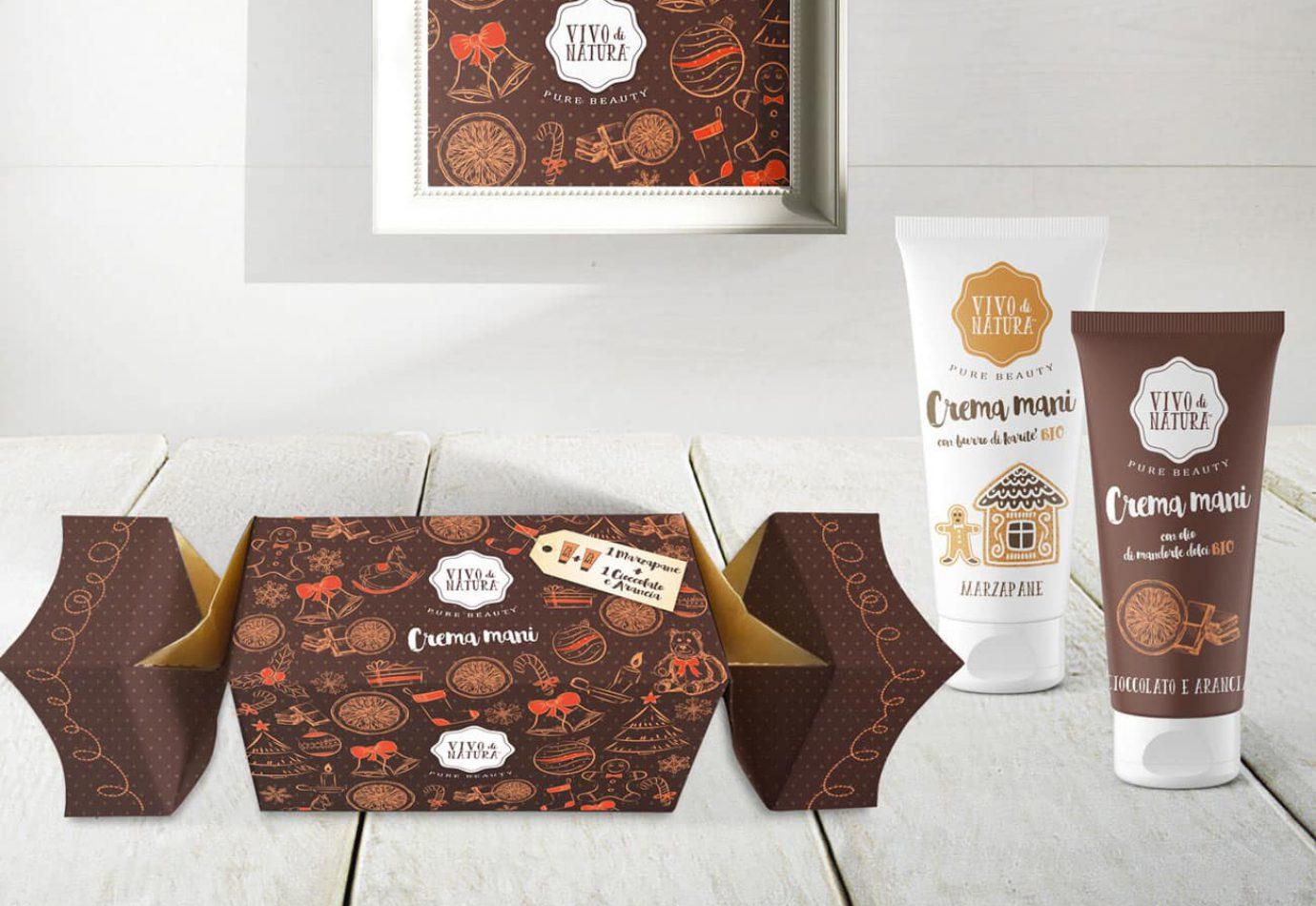 WillBe Packaging Design Caramelle Natale Vivo di Natura cioccolato