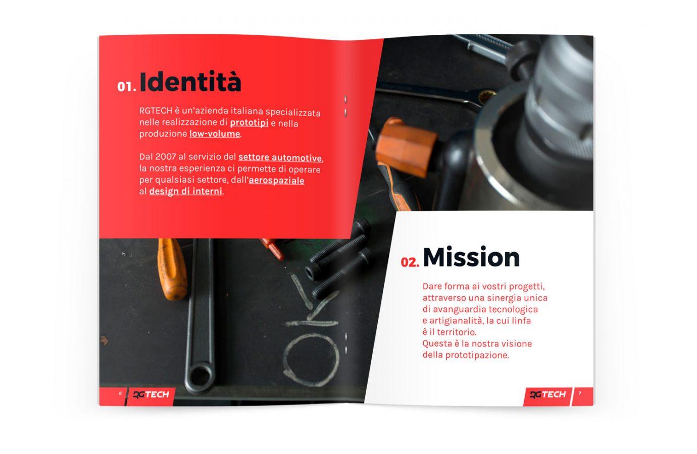 WillBe - design brochure interno Rgtech