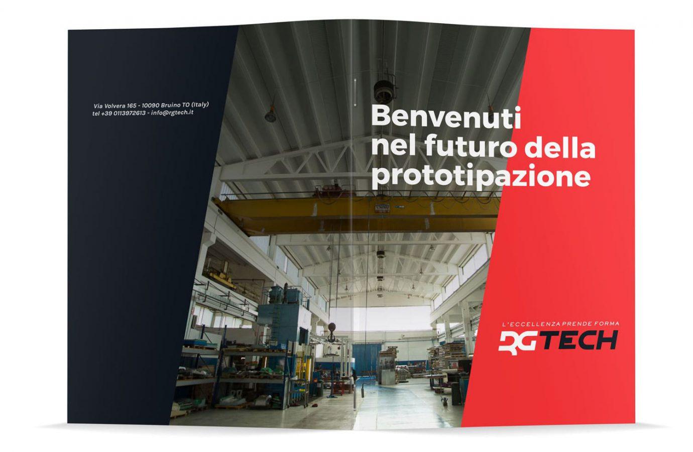 WillBe - design brochure cover Rgtech